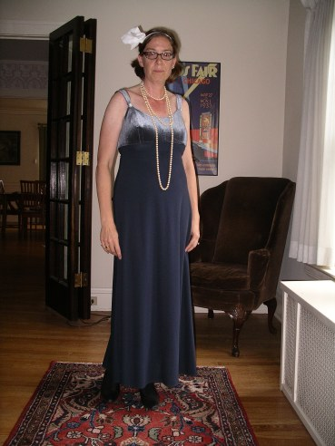 Blue Gatsby with Shoes