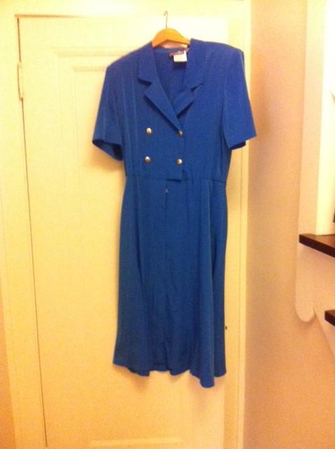 Blue dress 1